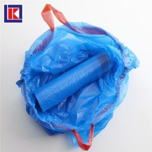 Heavy Duty Hdpe Kitchen Drawstring Garbage Bag On Roll